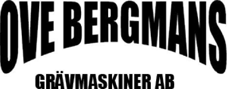 Ove Bergmans Grävmaskiner